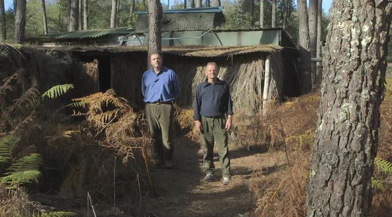 Cabane de chasseurs